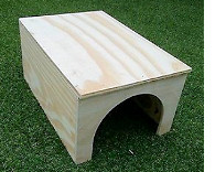 Image result for wooden rabbit hideaway