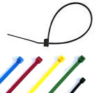 cable ties are available in a variety of colours