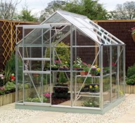 making a rabbit run from a greenhouse frame
