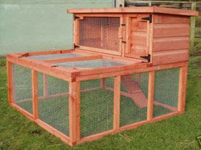 Outdoor Rabbit Hutch Diy