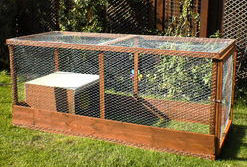 Plans for Building a Rabbit Run The Rabbit House