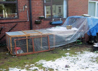 Diy Rabbit Hutch Cover