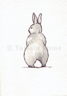 rabbit art drawings paintings portraits sketches of bunnny rabbits