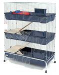 Baffy 3 Storey 120 Rabbit Cage